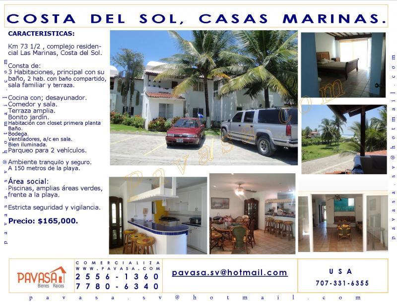 Pavasa venta casas apartamentos locales terrenos bodegas - Casas en la costa del sol ...